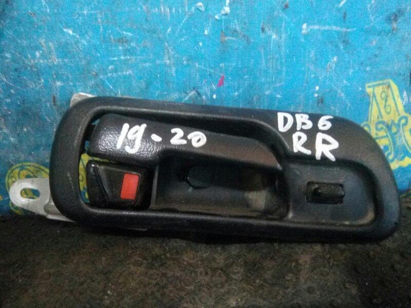 Ручка двери внутренняя Honda Integra DB6 ZC 1999 задняя правая