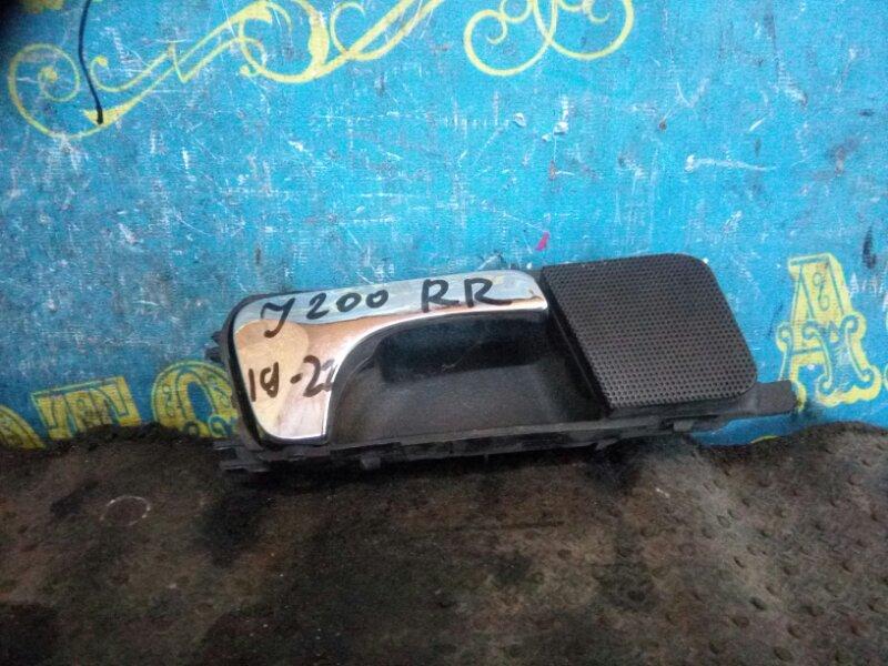 Ручка двери внутренняя Chevrolet Lacetti J200 F16D3 2012 задняя правая