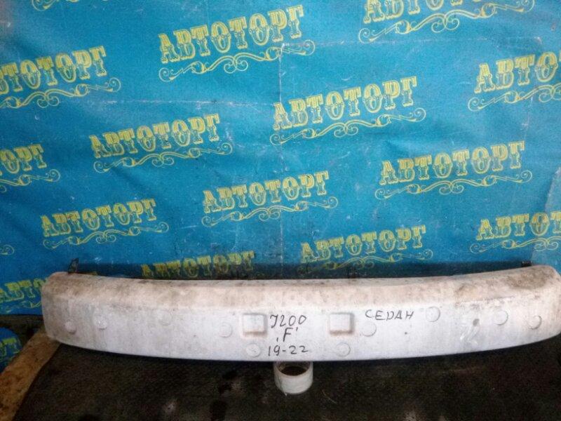 Усиление бампера Chevrolet Lacetti J200 F16D3 2012 переднее