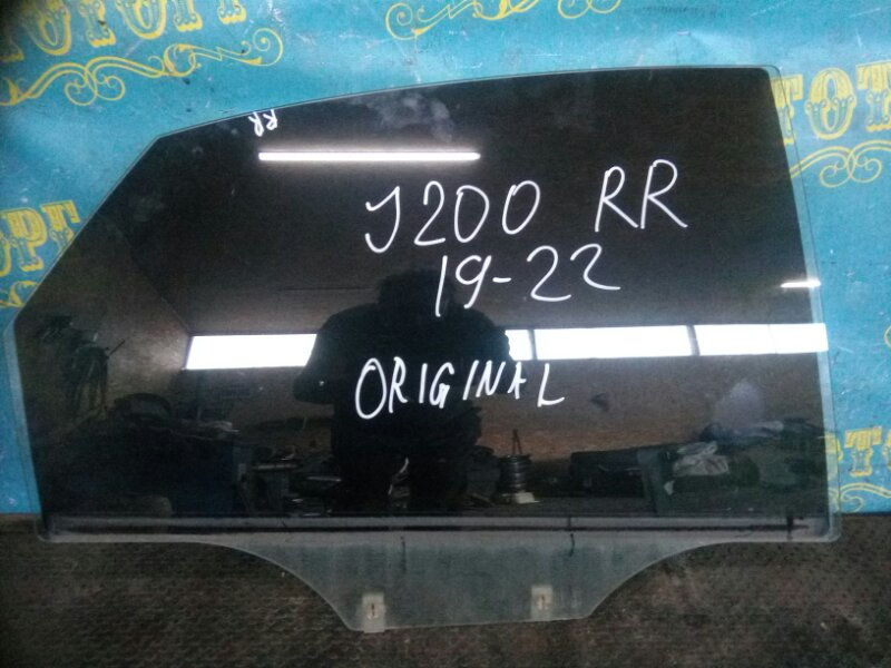 Стекло двери Chevrolet Lacetti J200 F16D3 2012 заднее правое