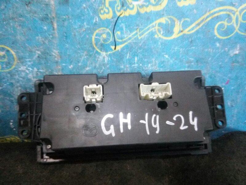 Блок управления климат-контролем Mazda 6 GH LF 2011