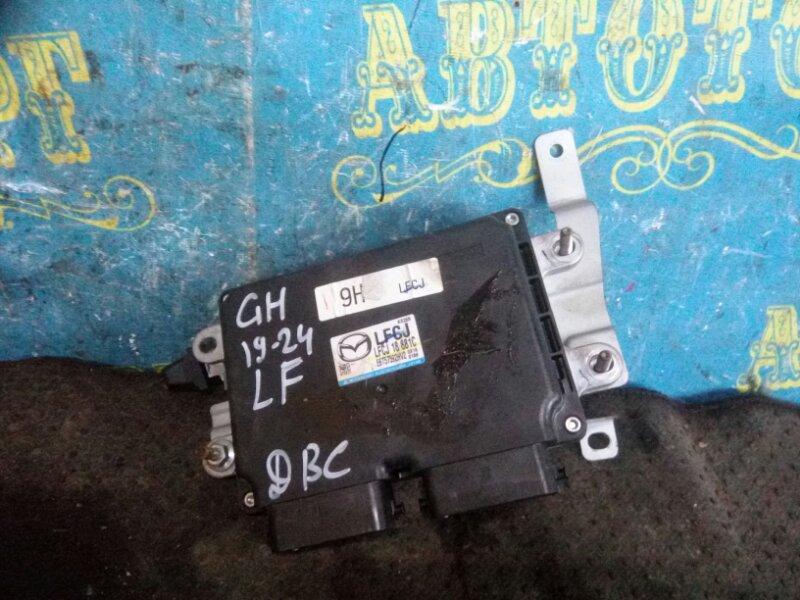 Блок управления двс Mazda 6 GH LF 2011