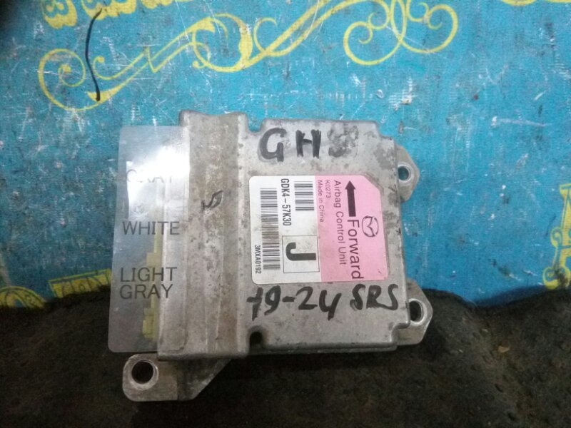 Блок управления airbag Mazda 6 GH LF 2011