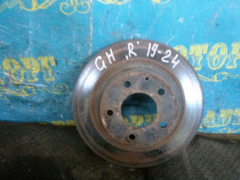 Тормозной диск Mazda 6 GH LF 2011 задний