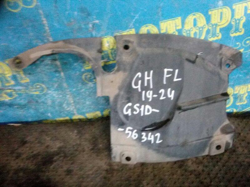 Защита двигателя Mazda 6 GH LF 2011 передняя левая