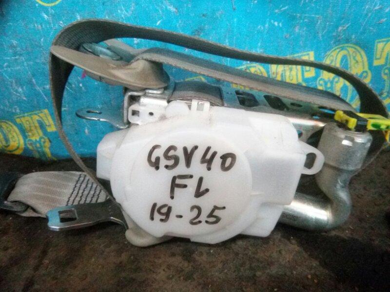 Ремень безопасности Toyota Camry GSV40 2GR 2008 передний левый