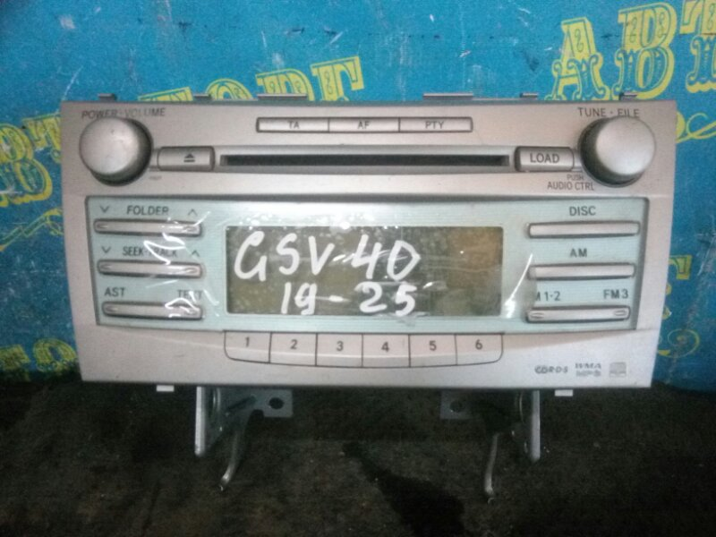 Магнитофон Toyota Camry GSV40 2GR 2008