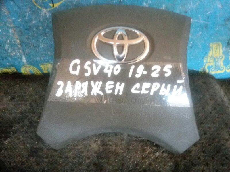 Airbag на руль Toyota Camry GSV40 2GR 2008