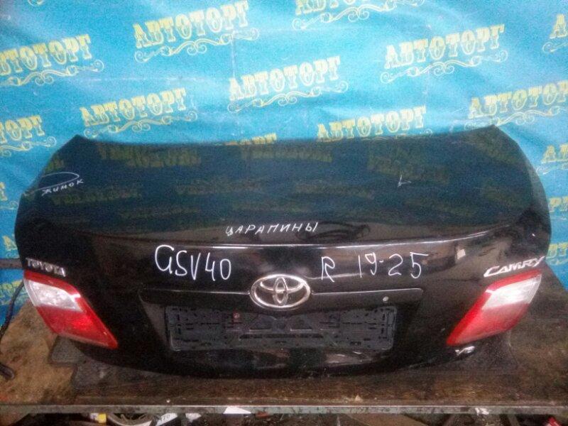 Крышка багажника Toyota Camry GSV40 2GR 2008