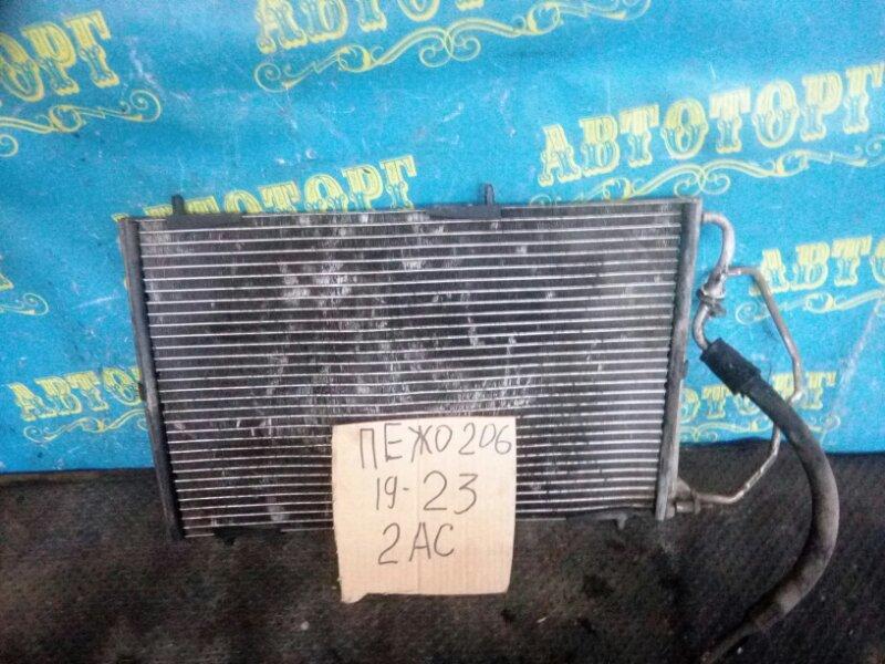 Радиатор кондиционера Peugeot 206 2AC TU3A 2006