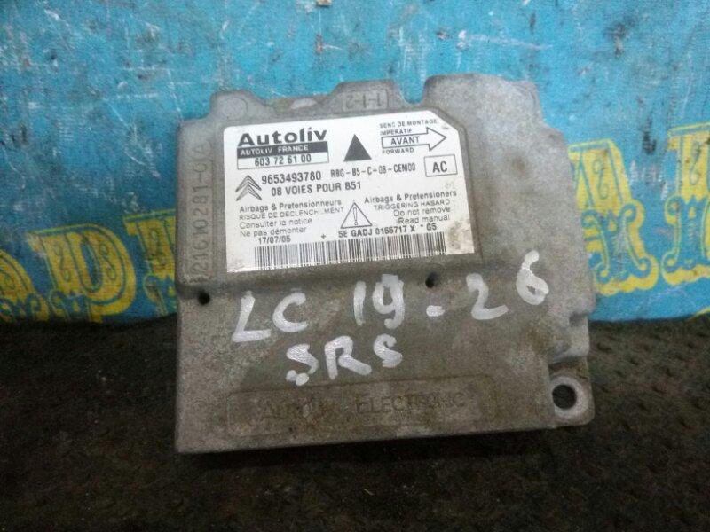 Блок управления airbag Citroen C4 LC TU5JP4 2006