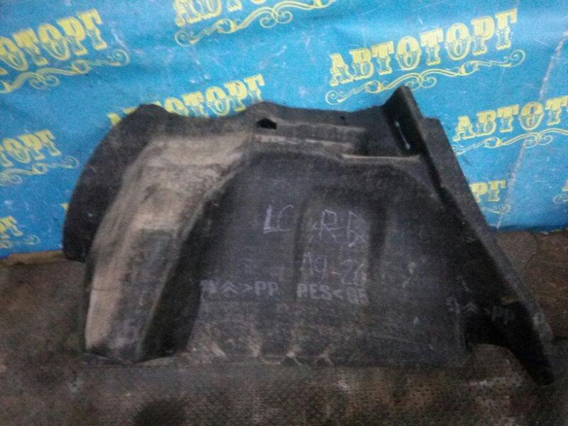 Обшивка багажника Citroen C4 LC TU5JP4 2006 задняя правая