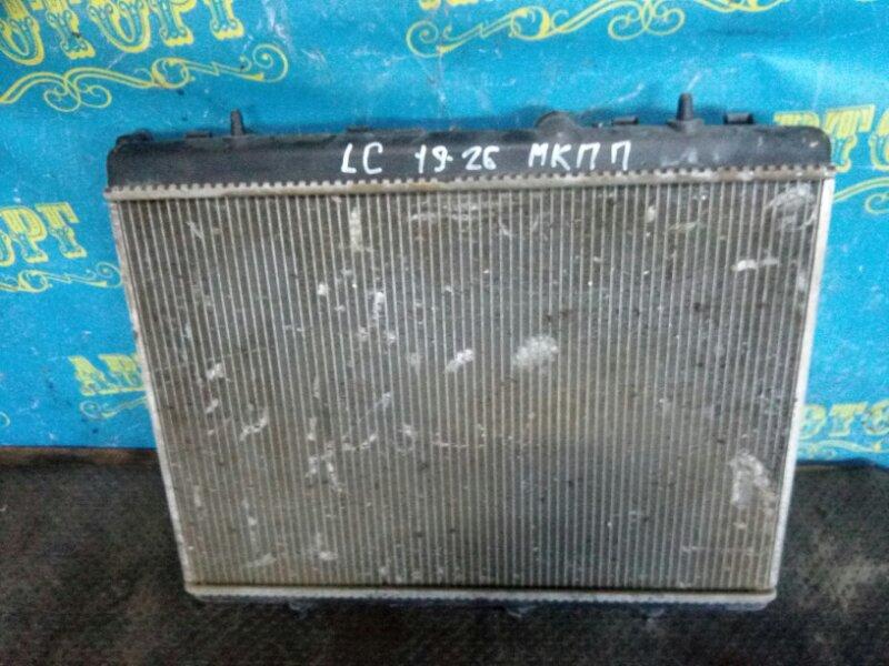 Радиатор основной Citroen C4 LC TU5JP4 2006
