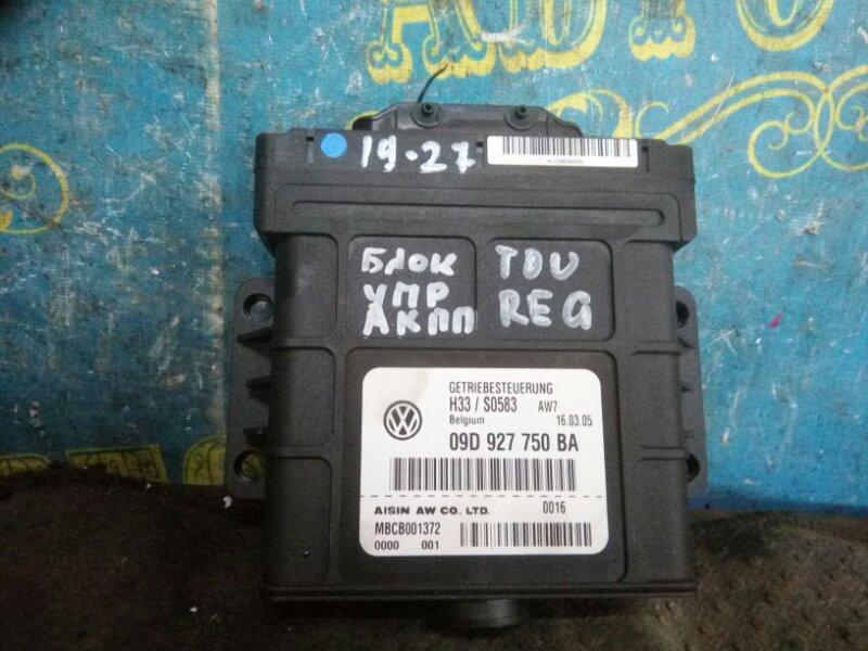 Блок управления акпп Volkswagen Touareg 7LA BMX 2005