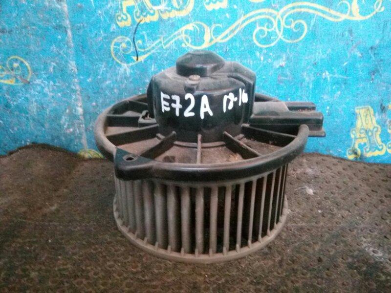 Мотор печки Mitsubishi Galant E53A E72A 4G93 1993 передний