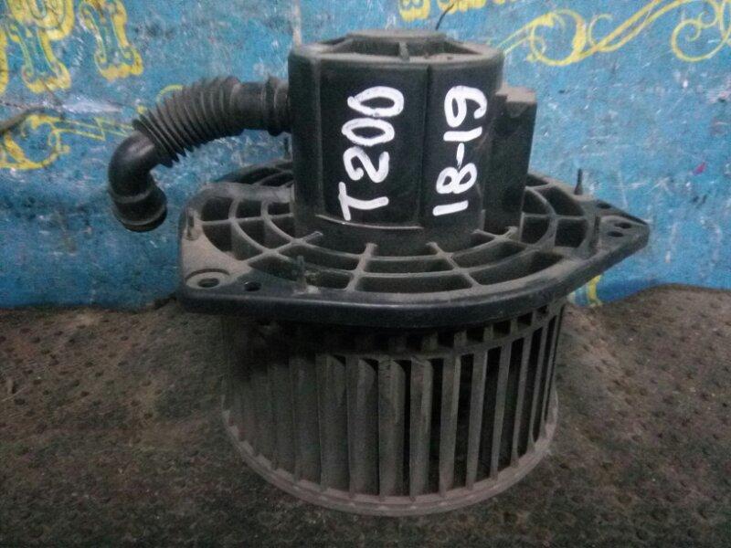 Мотор печки Chevrolet Aveo T200 B12S1 2006 передний