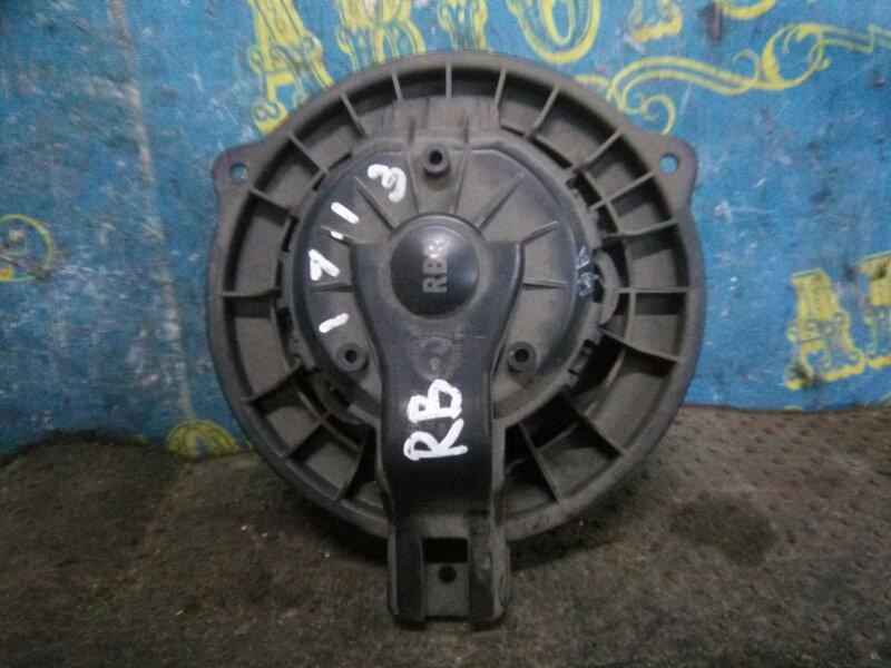 Мотор печки Hyundai Solaris RB G4FC 2012 передний