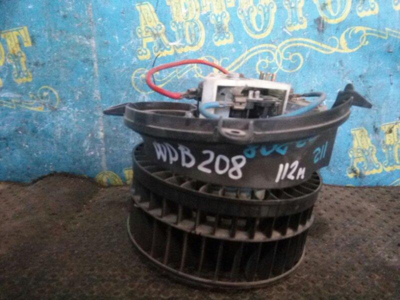 Мотор печки Mercedes Clk-Class W208 112 передний
