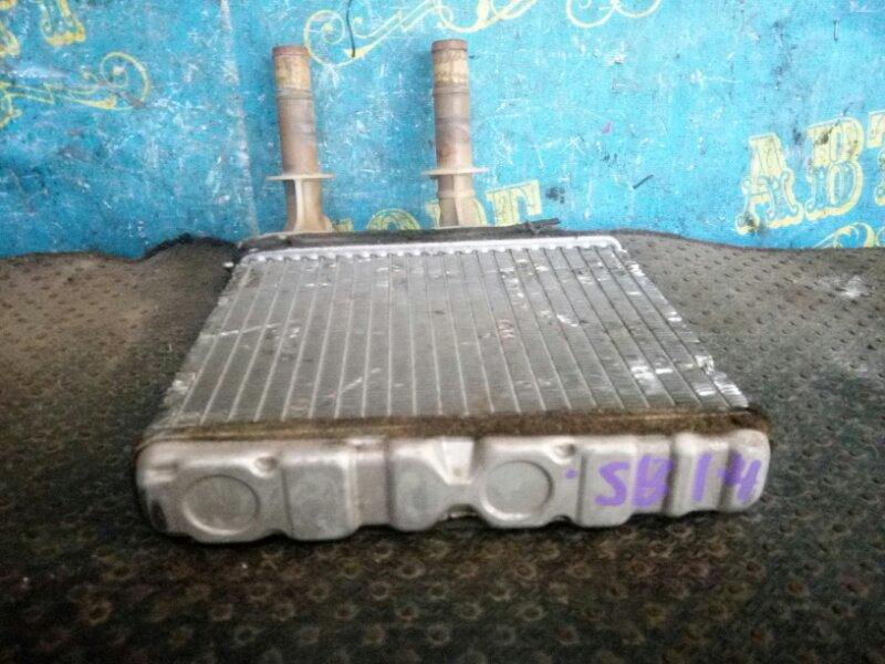 Радиатор печки Nissan Sunny SB14 CD20 1997 передний