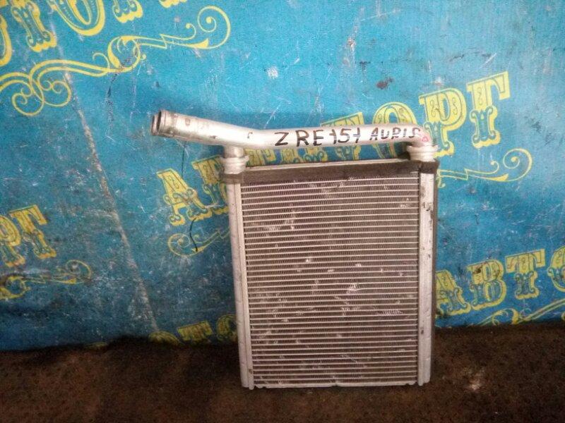 Радиатор печки Toyota Auris ZRE151L 1ZR 2008 передний