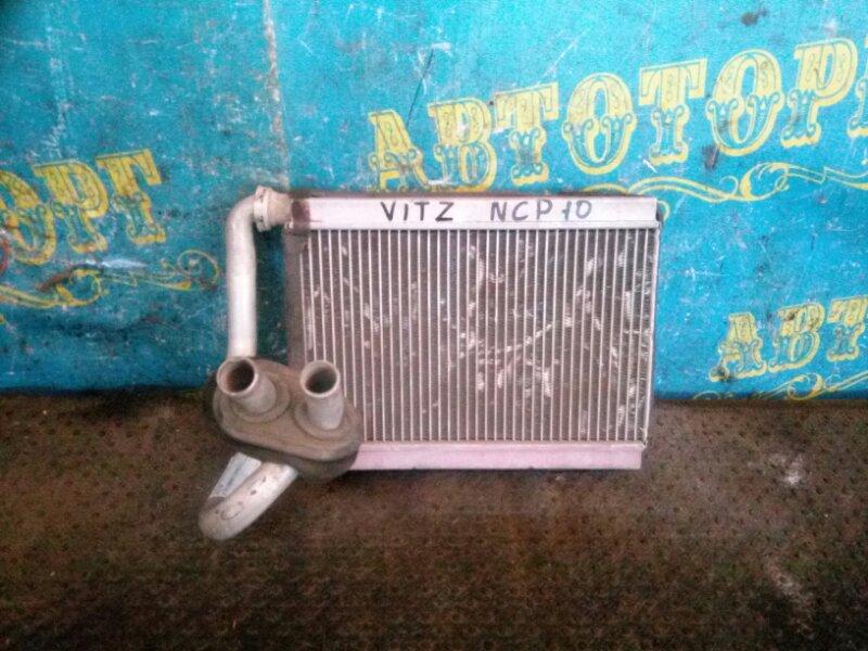 Радиатор печки Toyota Vitz NCP10 передний