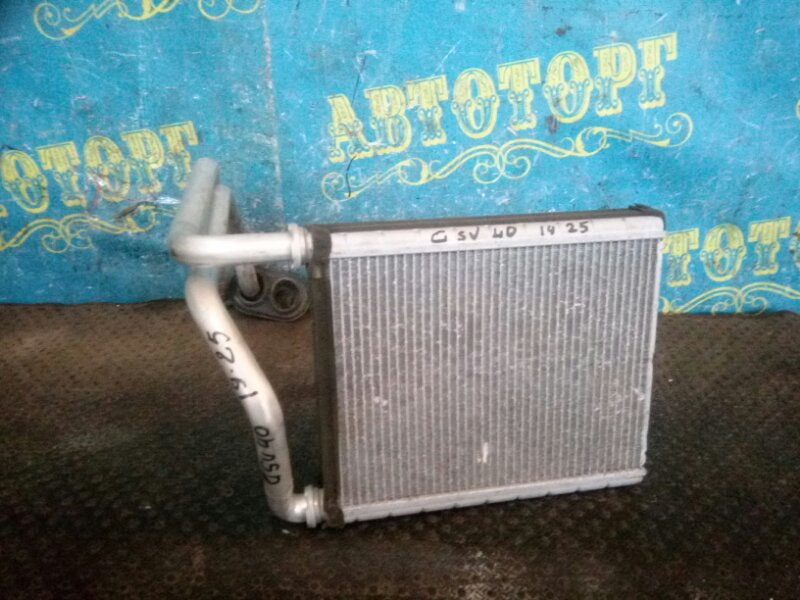 Радиатор печки Toyota Camry GSV40 2GR 2008 передний