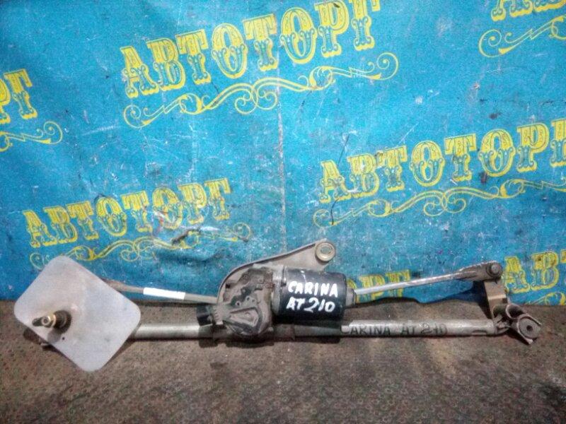 Трапеция дворников Toyota Carina AT210 передняя