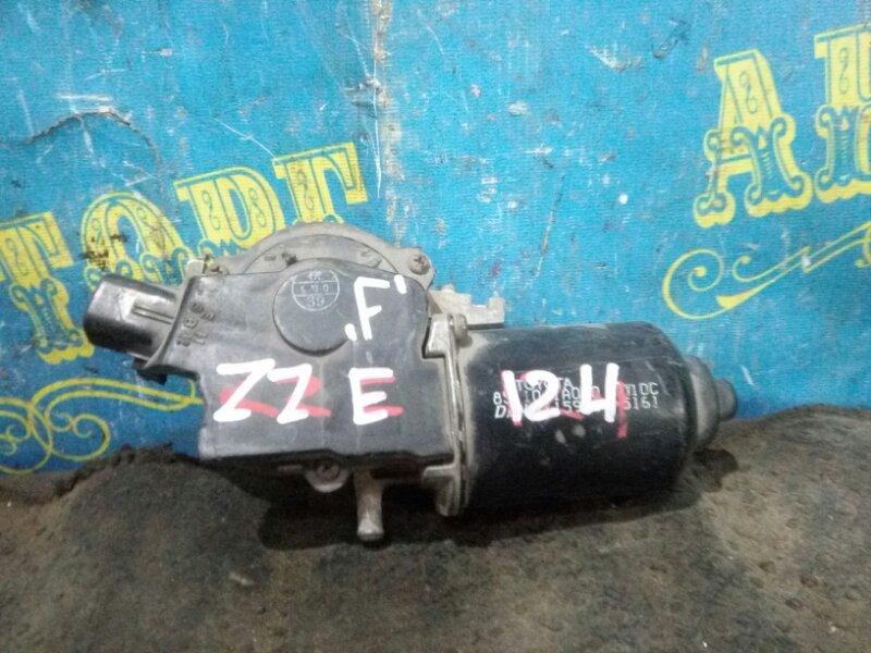 Мотор дворников Toyota Corolla Fielder ZZE 124 передний