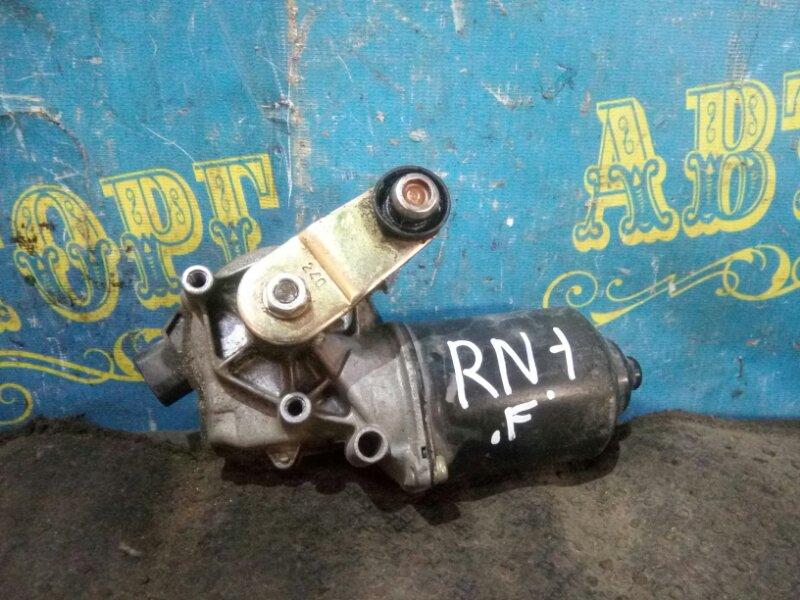 Мотор дворников Honda Stream RN1 передний