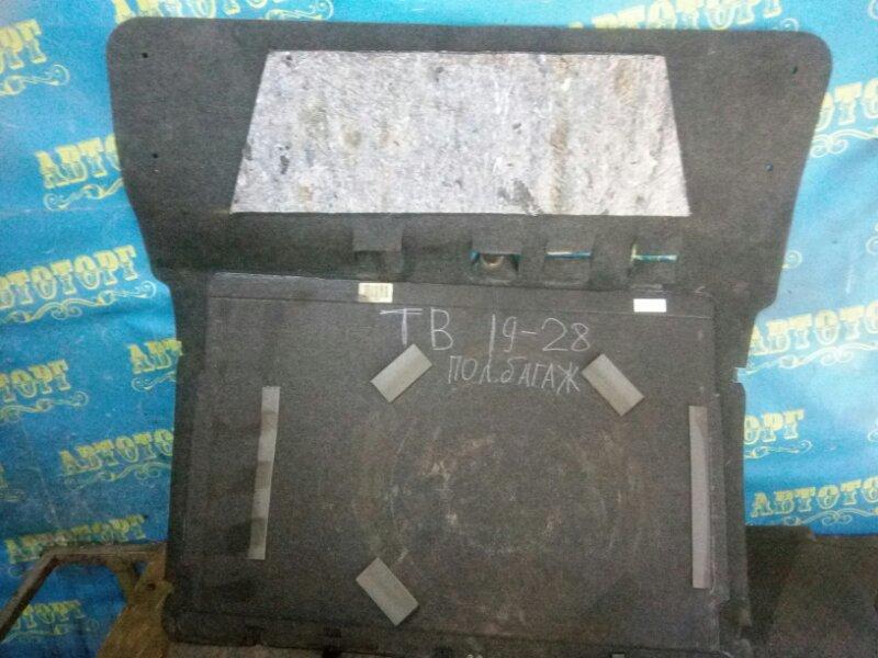 Пол багажника пластик Hyundai Getz TB G4ED 2004
