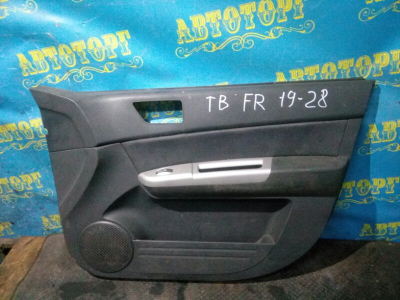 Обшивка дверей Hyundai Getz TB G4ED 2004 передняя правая