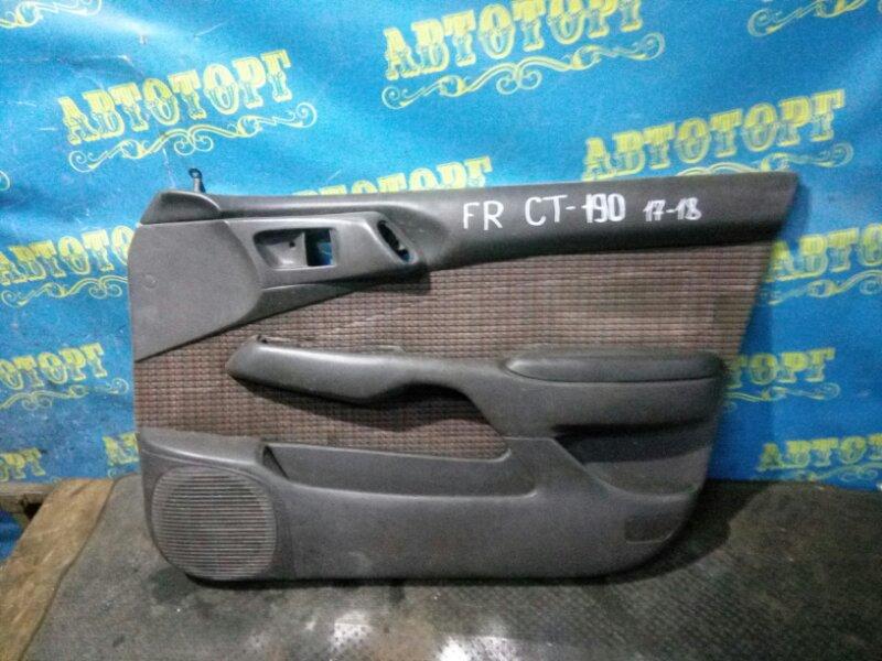 Обшивка дверей Toyota Corona CT190 2C 1995 передняя правая