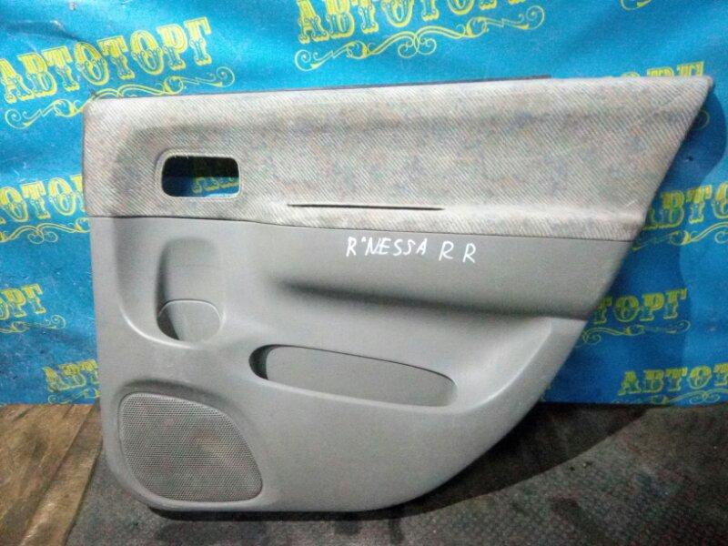 Обшивка дверей Nissan Rnessa N30 SR20DE задняя правая