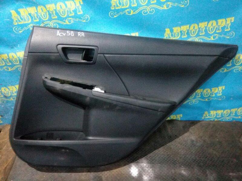 Обшивка дверей Toyota Camry ACV51 1AZ 2012 задняя правая