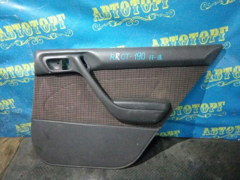 Обшивка дверей Toyota Corona CT190 2C 1995 задняя правая