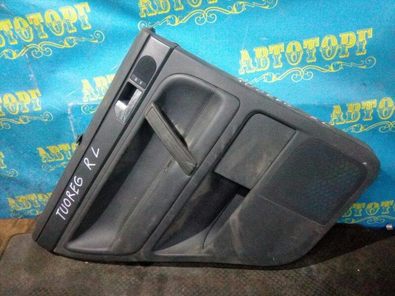 Обшивка дверей Volkswagen Touareg 7L задняя левая