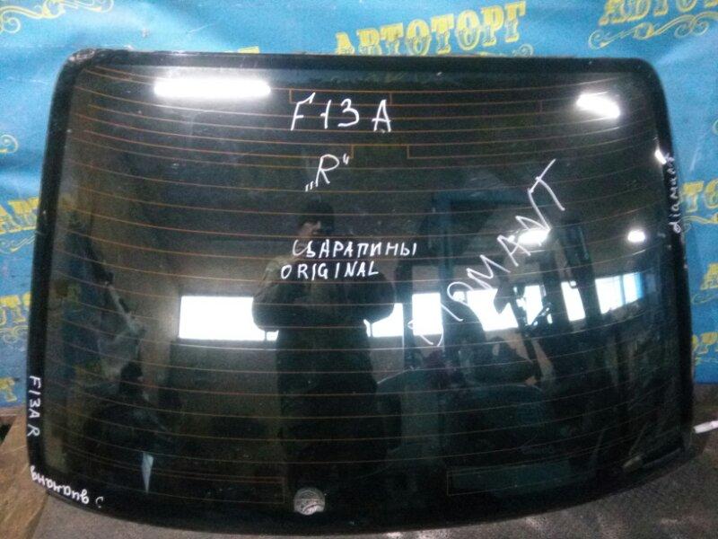 Стекло заднее Mitsubishi Diamante F13A