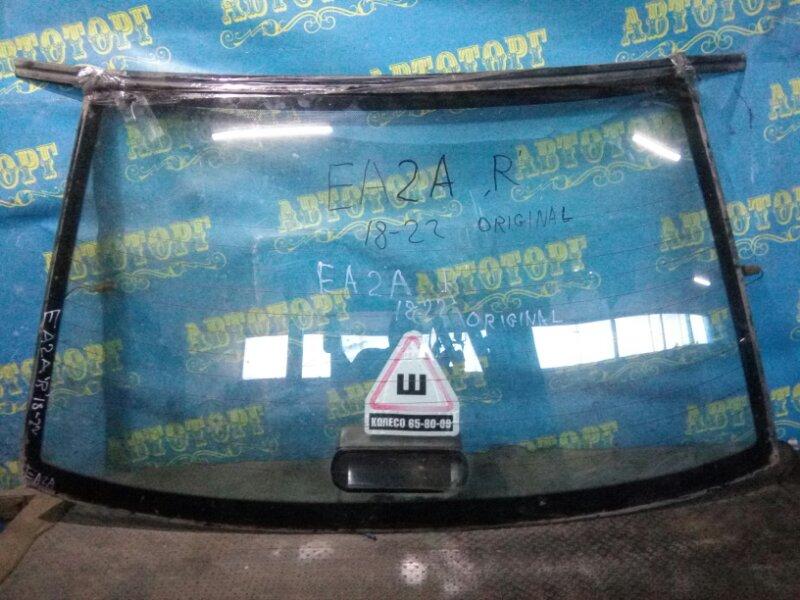 Стекло заднее Mitsubishi Galant EA2A 4G63 1997
