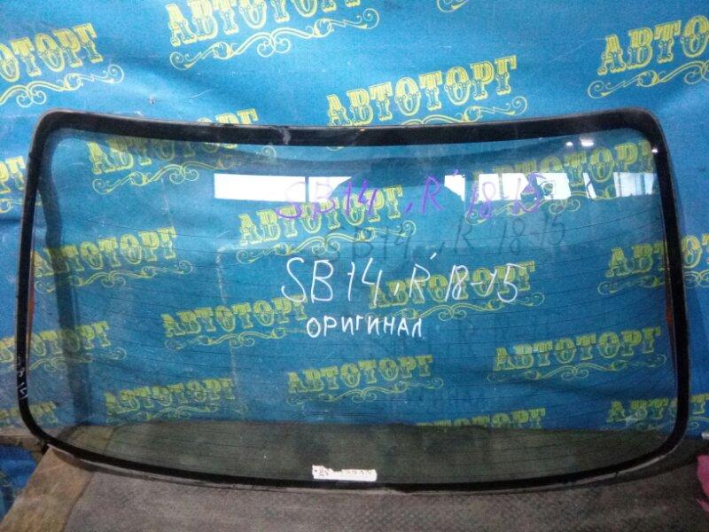 Стекло заднее Nissan Sunny SB14 CD20 1997