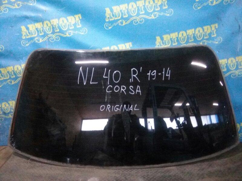 Стекло заднее Toyota Corsa NL40 1N 1994