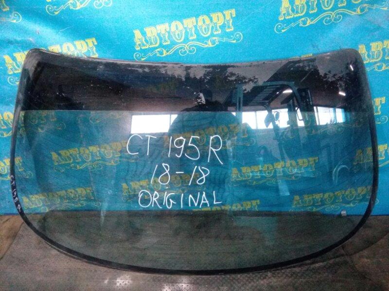 Стекло заднее Toyota Carina CT195 2C 1992