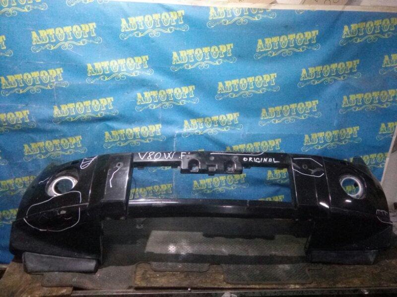 Бампер Mitsubishi Pajero V83W 4M41 2010 передний