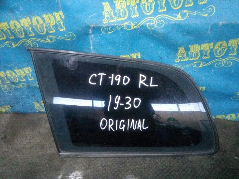 Стекло багажника Toyota Caldina CT190 2C 1993 заднее левое