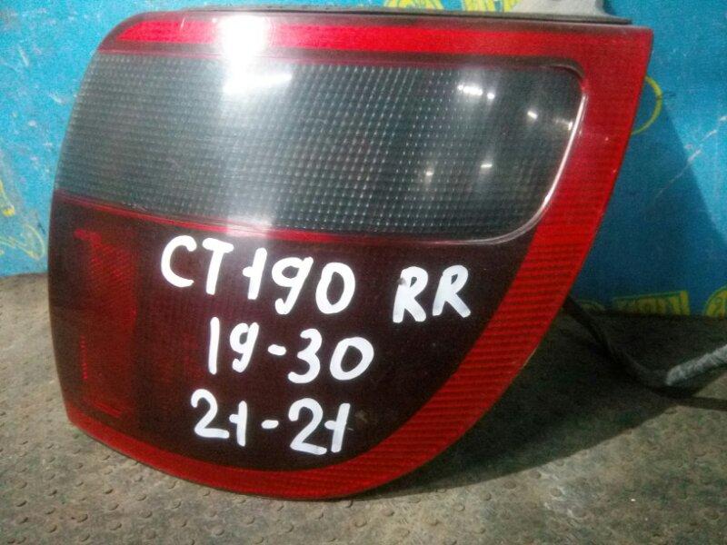 Стоп сигнал Toyota Caldina CT190 2C 1993 задний правый