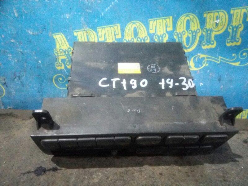 Блок управления климат-контролем Toyota Caldina CT190 2C 1993