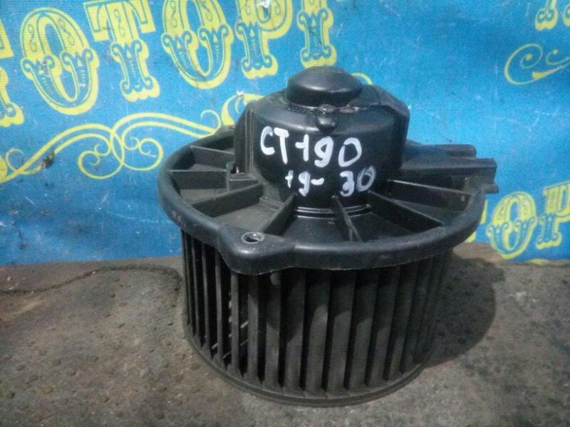 Мотор печки Toyota Caldina CT190 2C 1993 передний