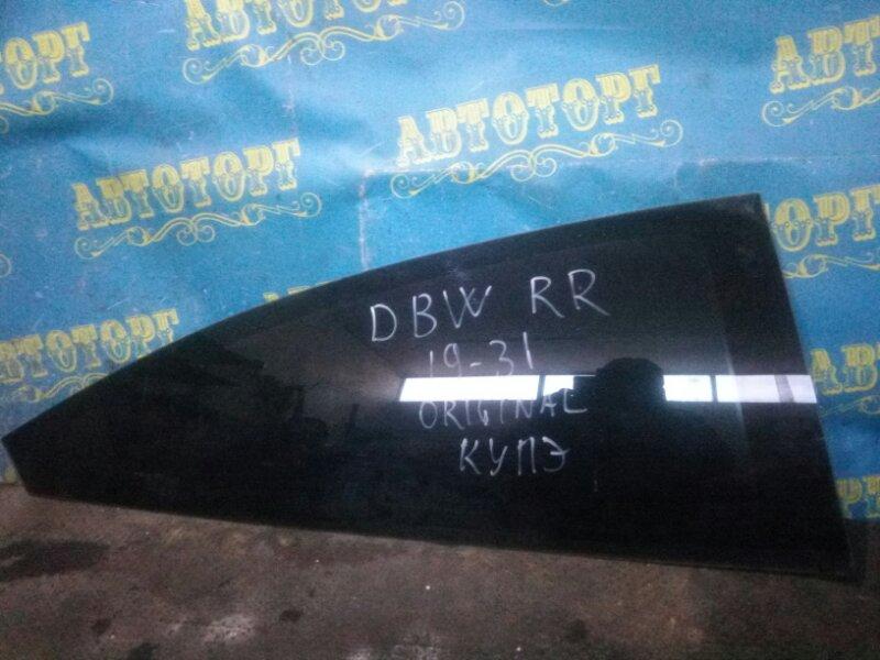Стекло багажника Ford Focus DBW EYDC 1998 заднее правое
