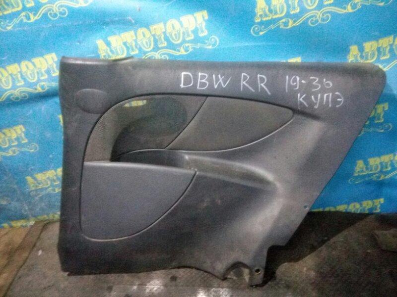 Обшивка багажника Ford Focus DBW EYDC 1998 задняя правая