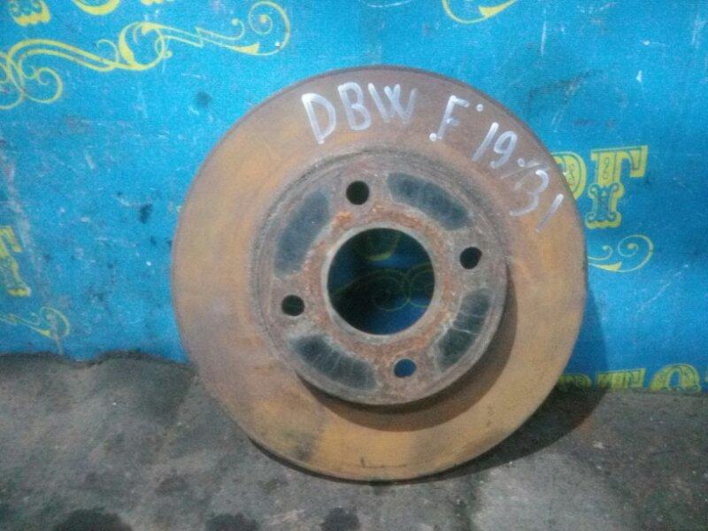 Тормозной диск Ford Focus DBW EYDC 1998 передний
