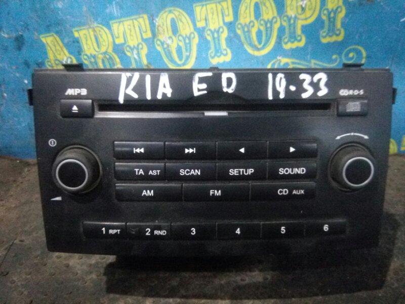 Магнитофон Kia Ceed ED G4FC 2007